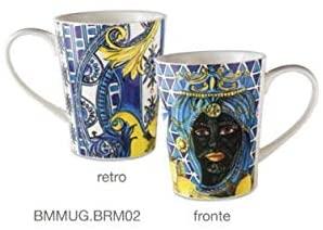 baci baroque rock siciliy mug blu