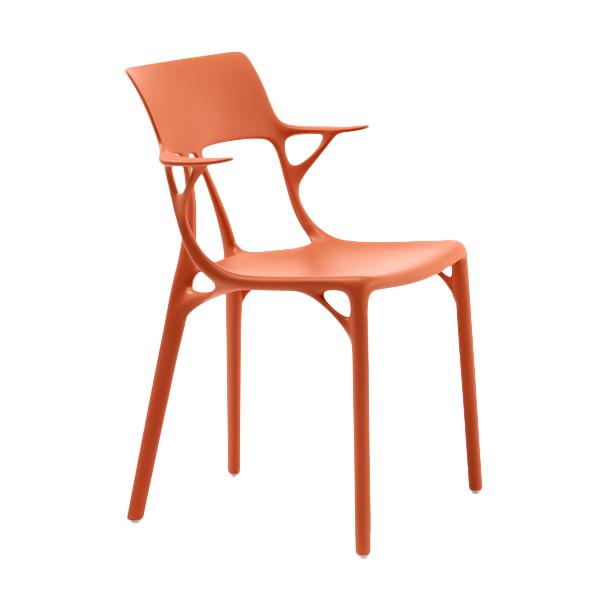 kartell AI sedia arancio
