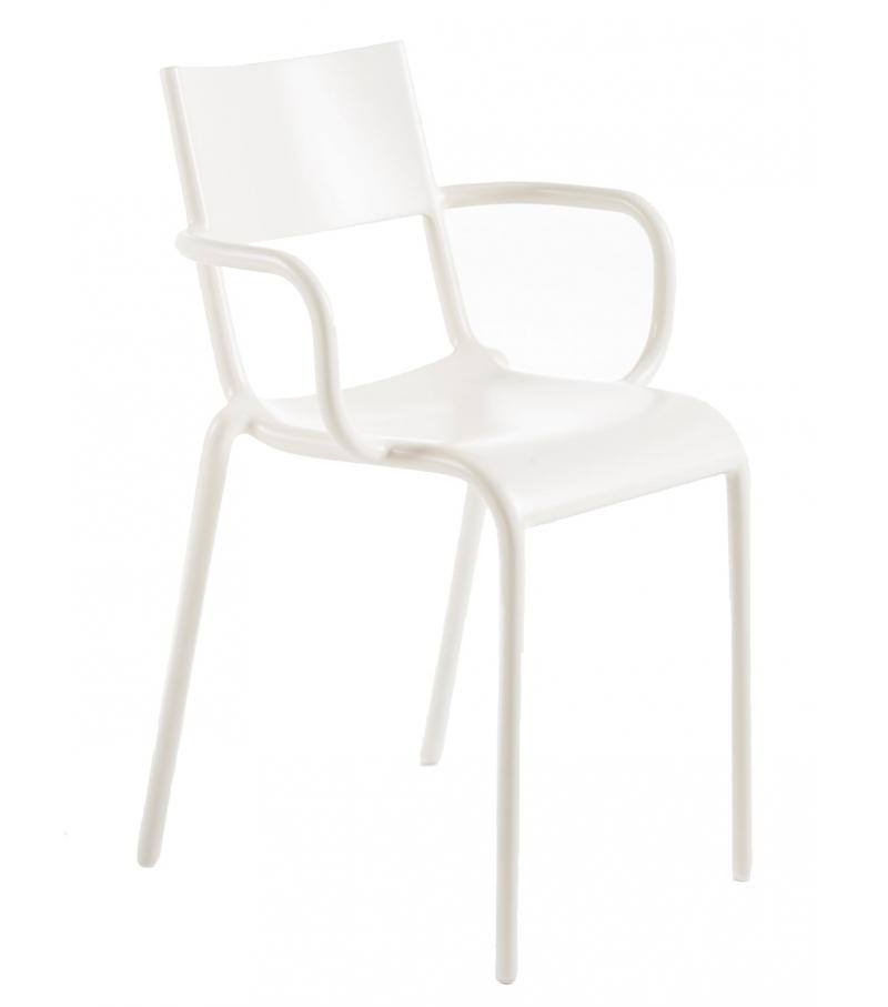 kartell generic a sedia bianca