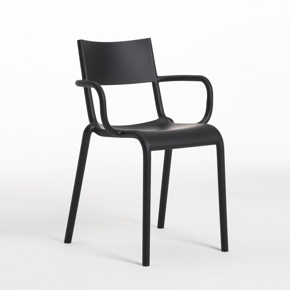 kartell generic a sedia nera
