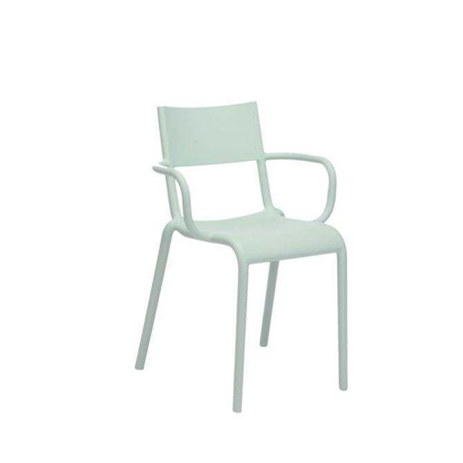 kartell generic a sedia verde salvia