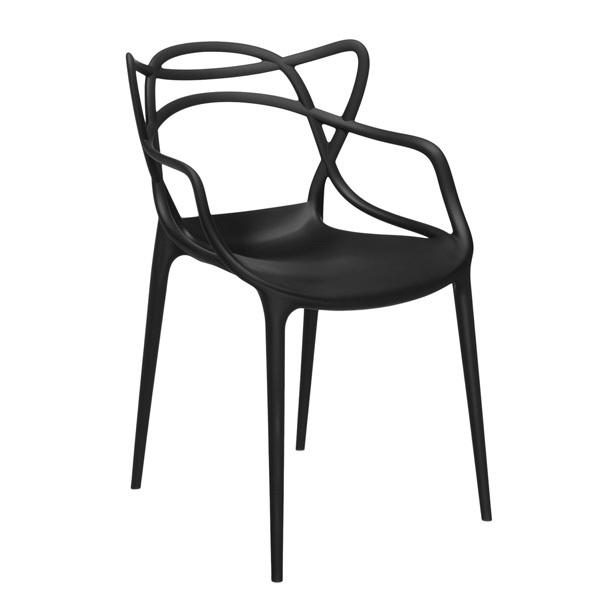 kartell master nera sedia