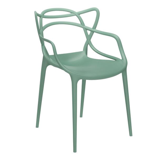 kartell master verde sedia