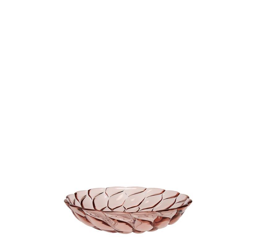 kartell jelly piatto fondo rosa