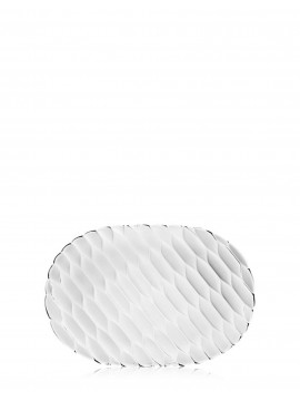 kartell jelly vassoio trasparente