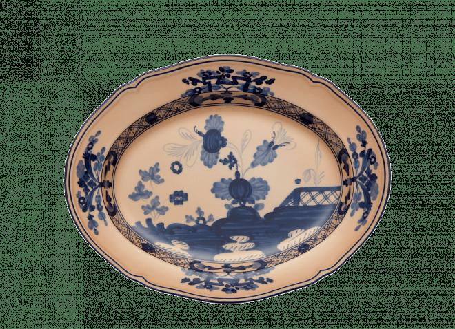 ginori oriente italiano piatto ovale