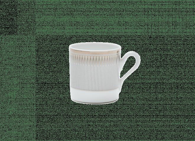 ginori magnifico platino tazze caffe