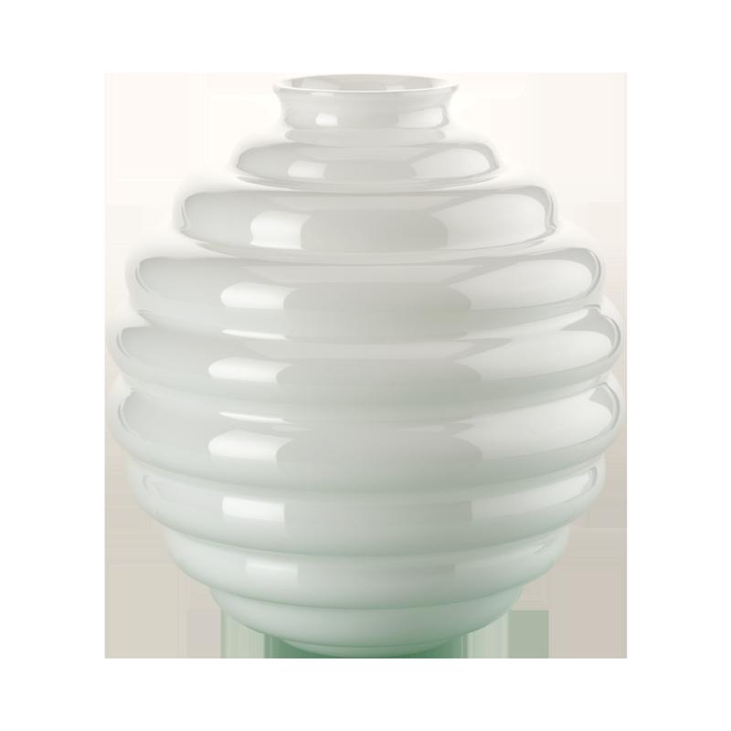 venini decò vaso bianco