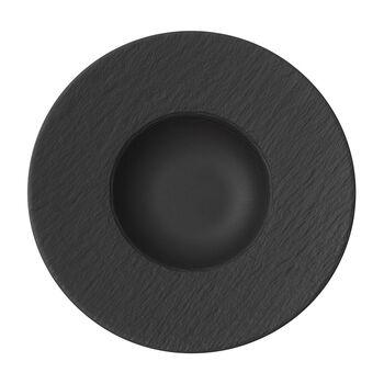 vb manufacture rock piatto pasta nero